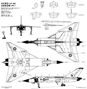 Avro Arrow CF-105 Mk.1